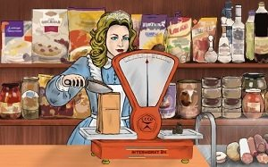 Доставка продуктов питания в магазины Москвы и МО