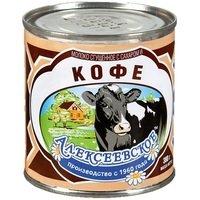 Молоко сг. с КОФЕ 5% ТУ(380гр) Алексеевское АМКК