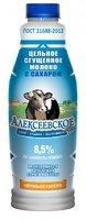 Молоко цельное сгущеное с сахаром 8,5 % п/эт БУТЫЛКА 1 КГ АМКК